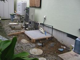 エコキュート設置工事2