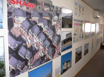 ショールームには太陽光発電の情報がたくさん!