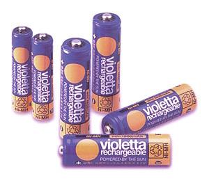 充電式ニッケル水素電池 バイオレッタ