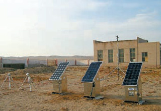 太陽電池モジュールフィールド実験