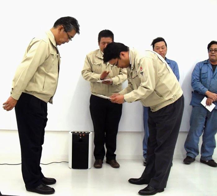 シオヤ産業_方針発表会永年勤続表彰3